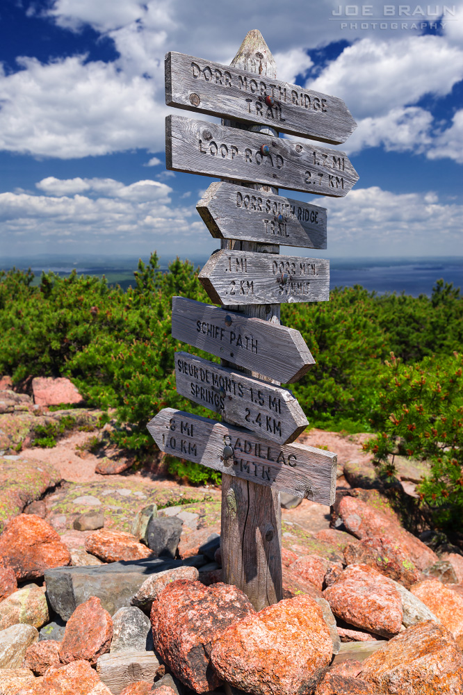 Joe S Guide To Acadia National Park Dorr Mountain Ladder