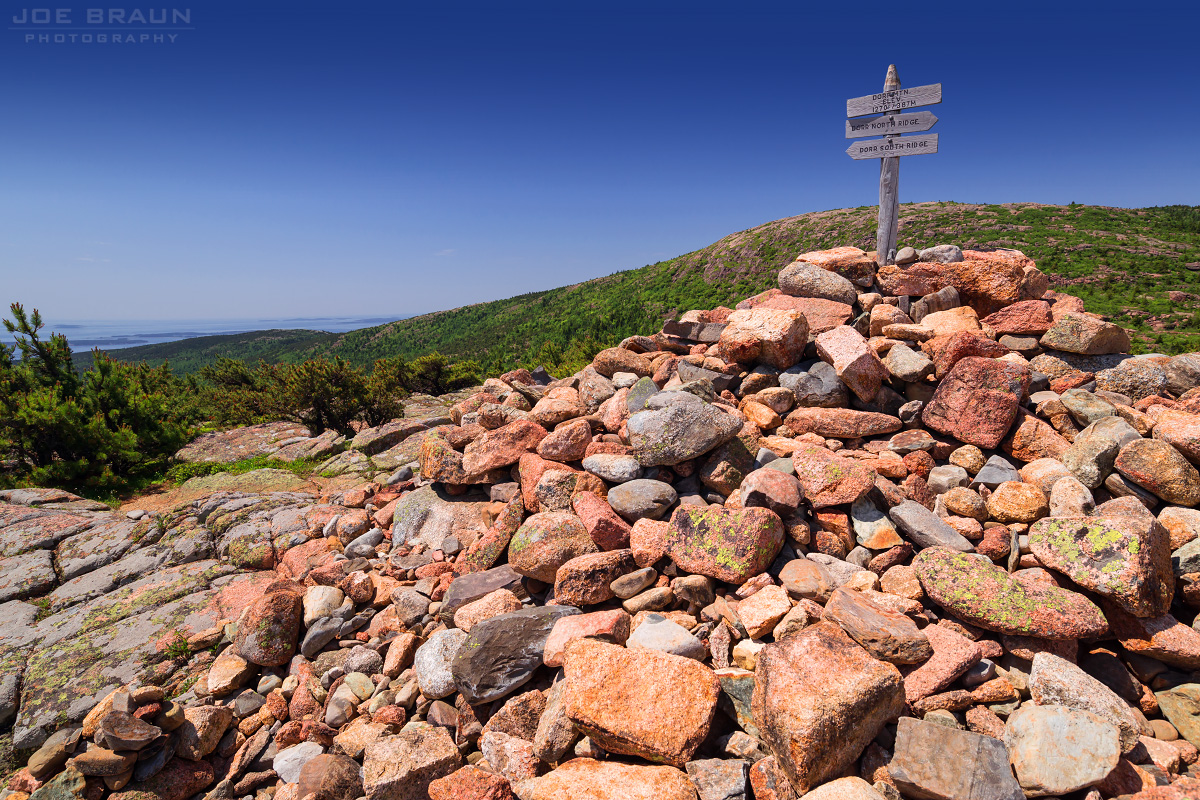 Dorr North Ridge Trail and Kebo Mountain photo (Acadia National Park) -- © 2013 Joe Braun Photography