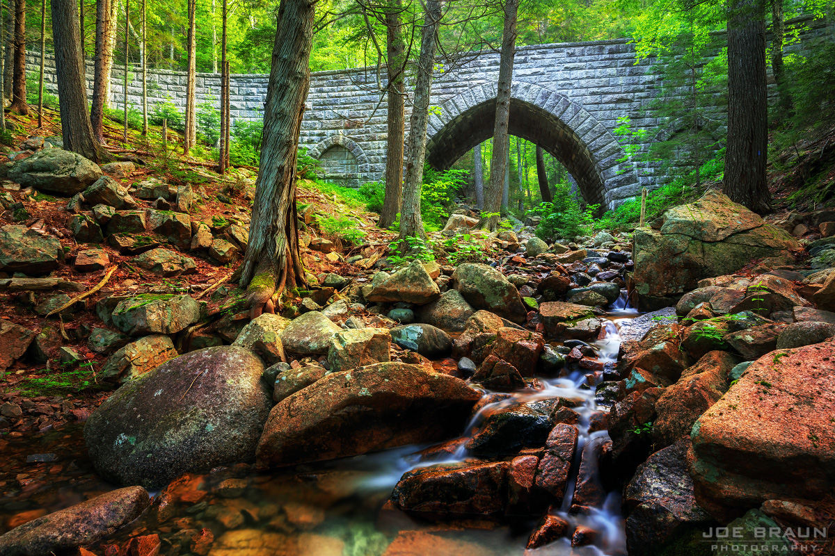 Hemlock Bridge photo (Acadia National Park) -- © 2013 Joe Braun Photography