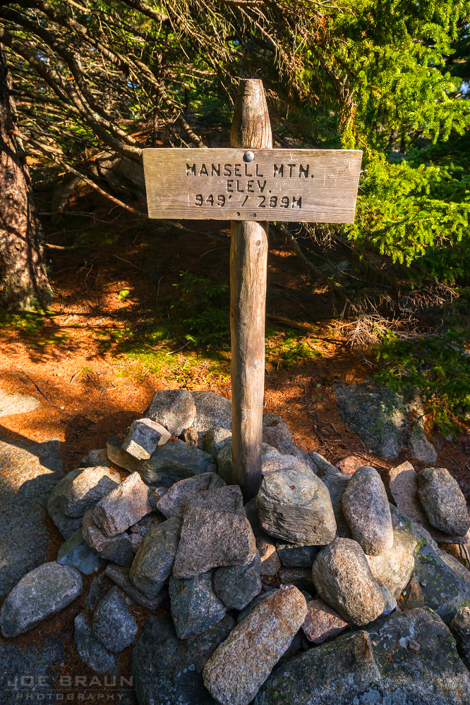 Mansell Mountain photo (Acadia National Park) -- © 2013 Joe Braun Photography