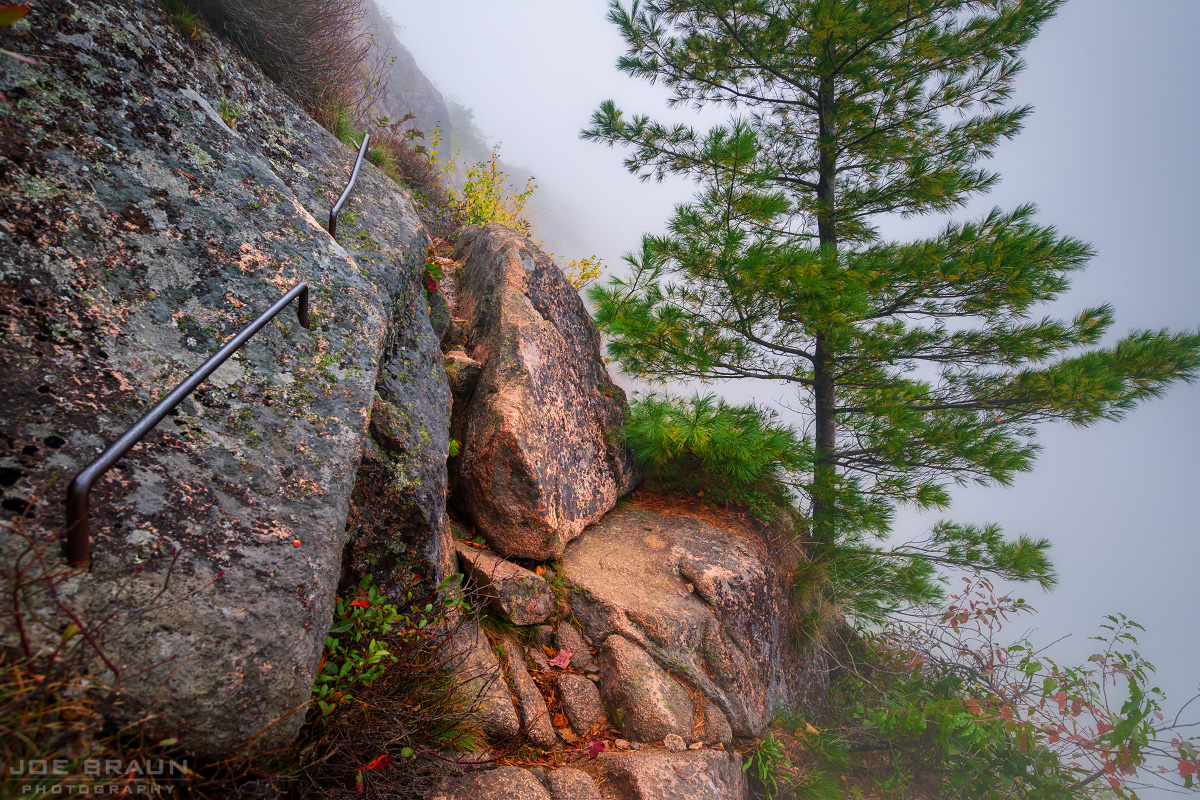 Precipice Trail photo (Acadia National Park) -- © 2013 Joe Braun Photography
