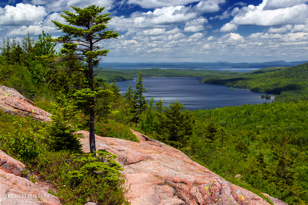 South Bubble Mountain photo (Acadia National Park) -- © 2013 Joe Braun Photography
