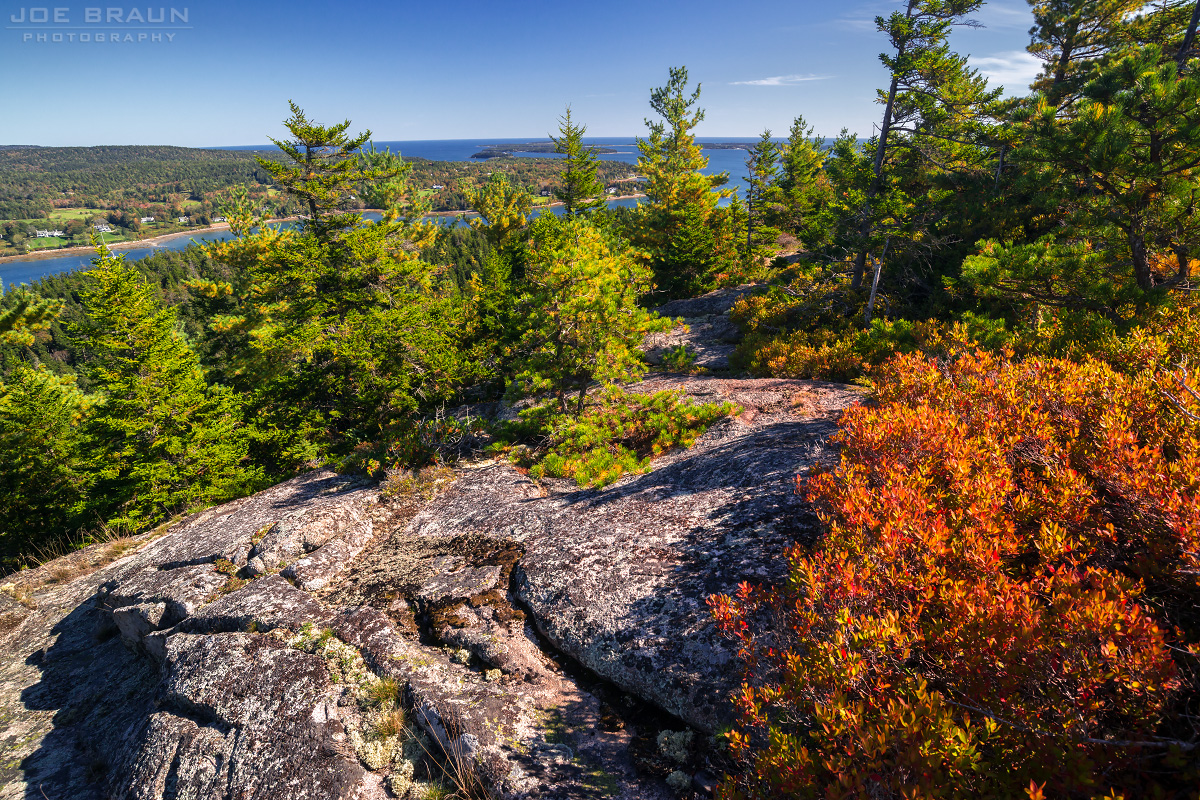 St. Sauveur Mountain photo (Acadia National Park) -- © 2013 Joe Braun Photography