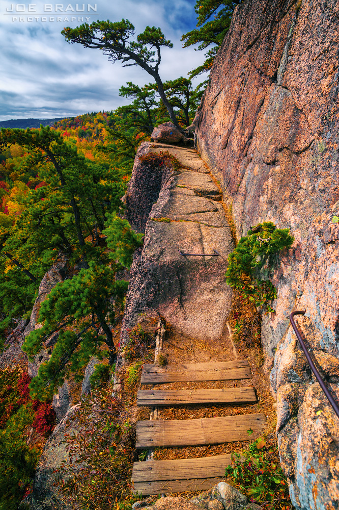 Beehive Trail photo (Acadia National Park) -- © 2014 Joe Braun Photography
