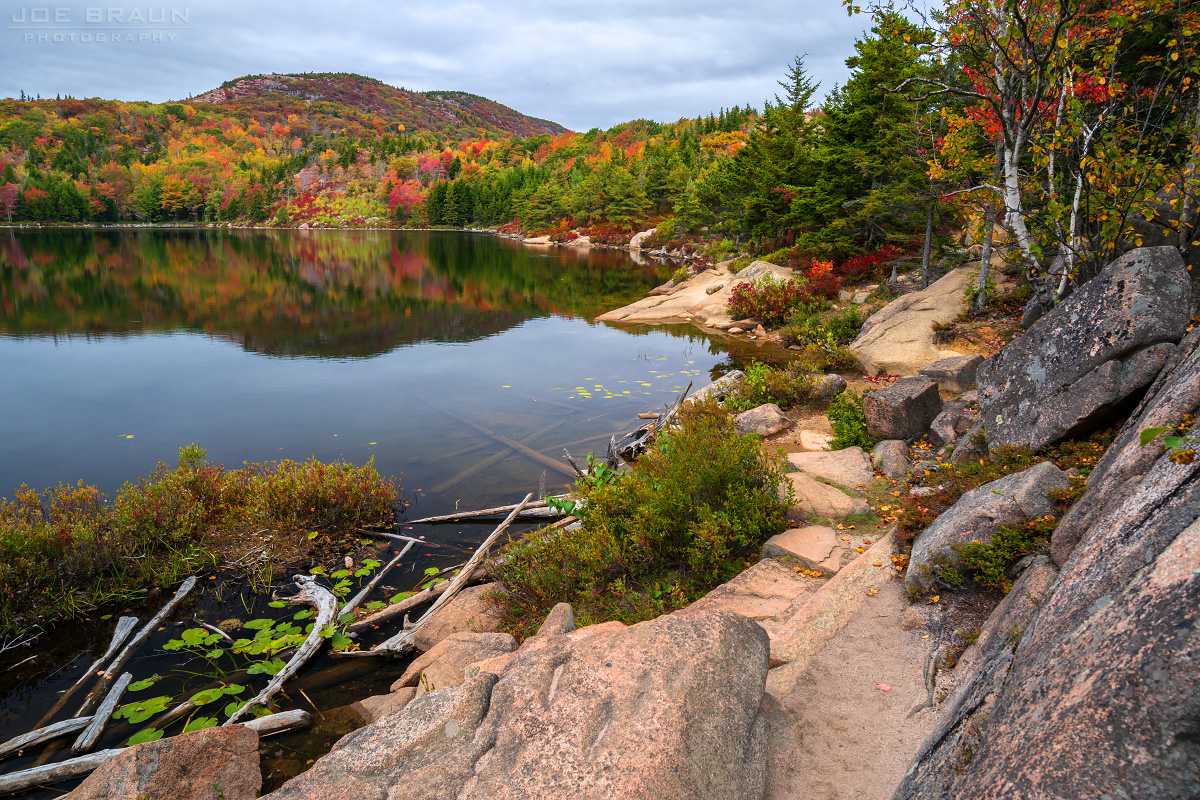 Champlain South Ridge Trail photo (Acadia National Park) -- © 2014 Joe Braun Photography