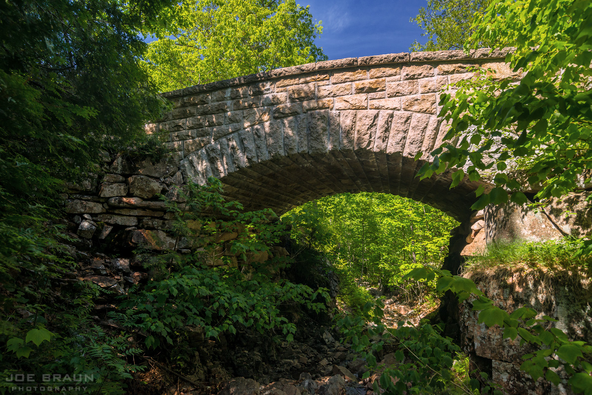 Chasm Brook Bridge photo (Acadia National Park) -- © 2014 Joe Braun Photography