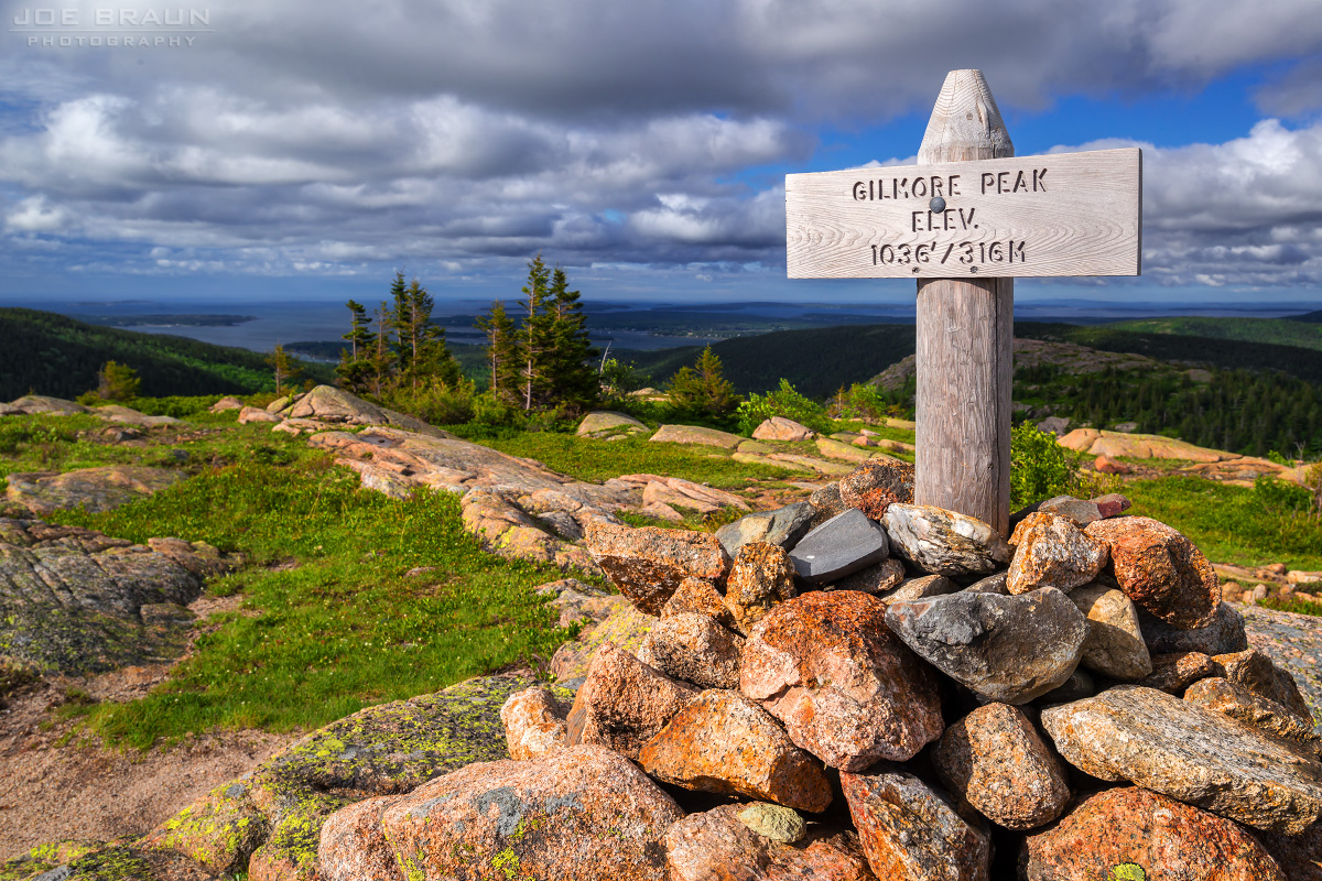 Gilmore Peak photo (Acadia National Park) -- © 2014 Joe Braun Photography