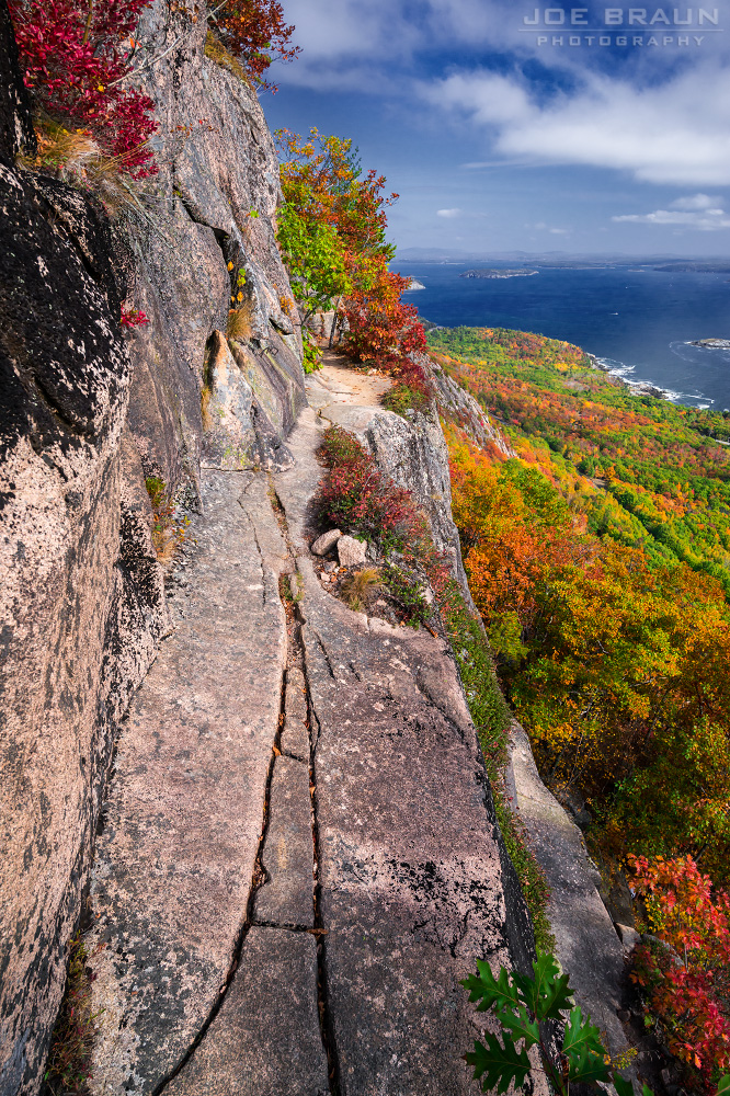 Precipice Trail photo (Acadia National Park) -- © 2014 Joe Braun Photography