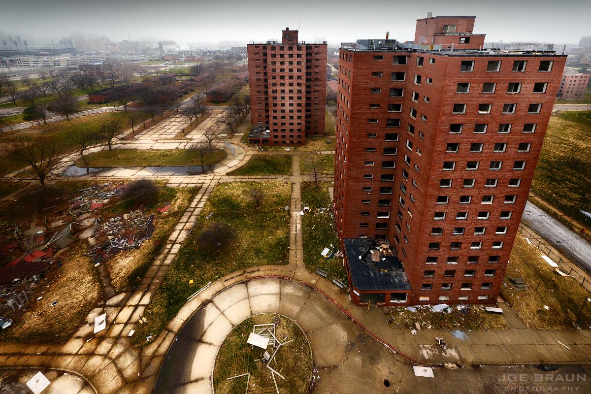 Brewster-Douglass Project, Detroit, MI set for demolition 2012