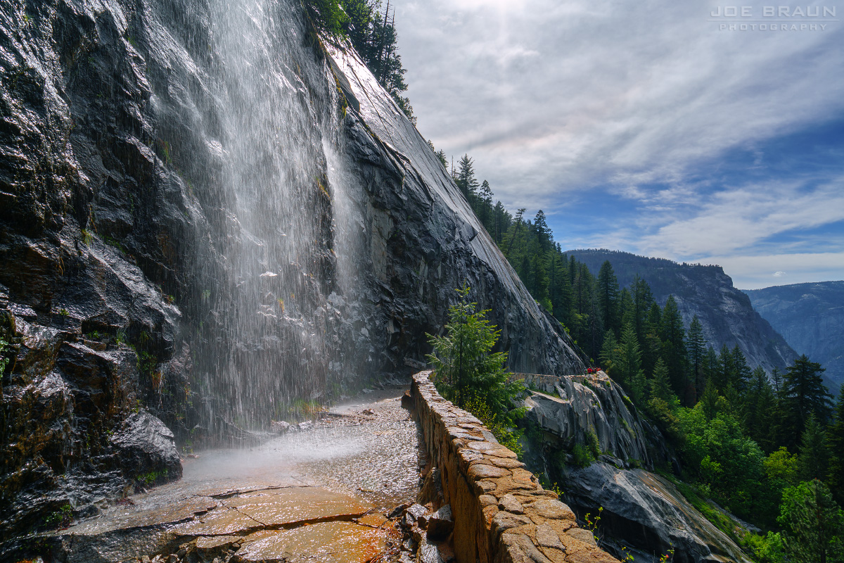The Mist Trail photo (Yosemite National Park) -- © 2017 Joe Braun Photography