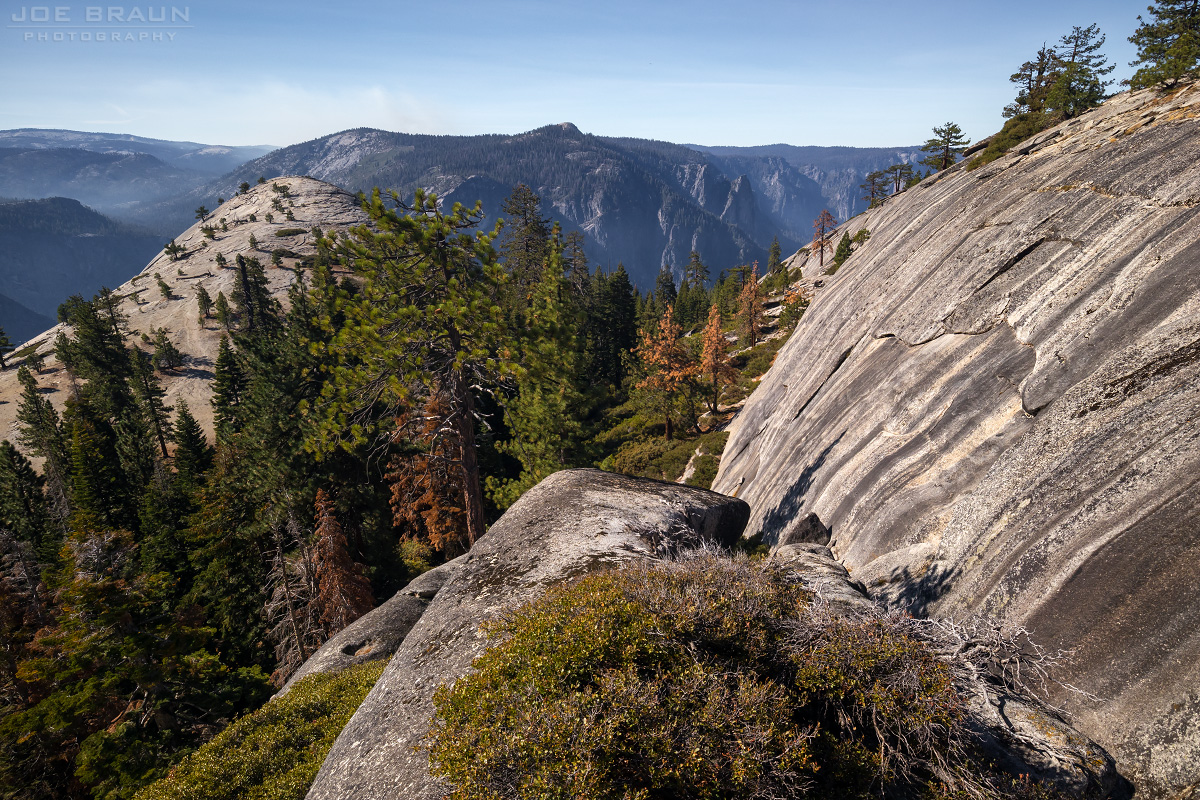 North Dome and Indian Rock photo (Yosemite National Park) -- © 2017 Joe Braun Photography