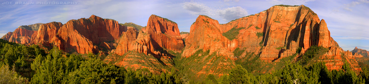 Timber Creek Overlook Trail photo (Zion National Park) -- © 2003 Joe Braun Photography