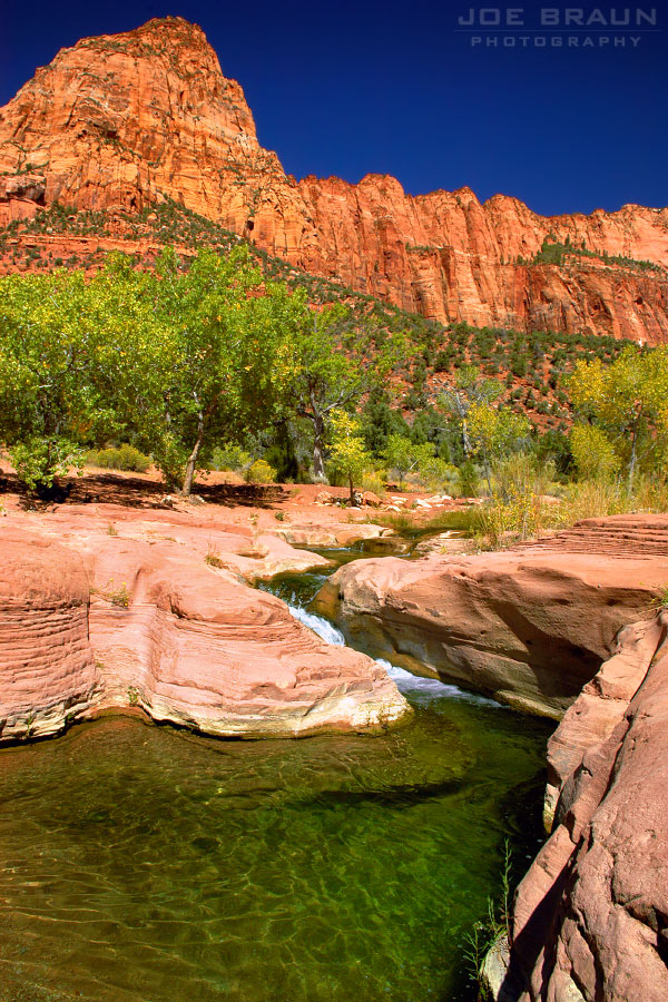 La Verkin Creek Trail photo (Zion National Park) -- © 2004 Joe Braun Photography