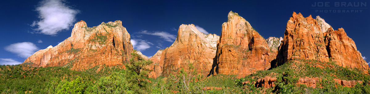 Court of the Patriarchs (Zion National Park) -- Photo © 2005 Joe Braun Photography