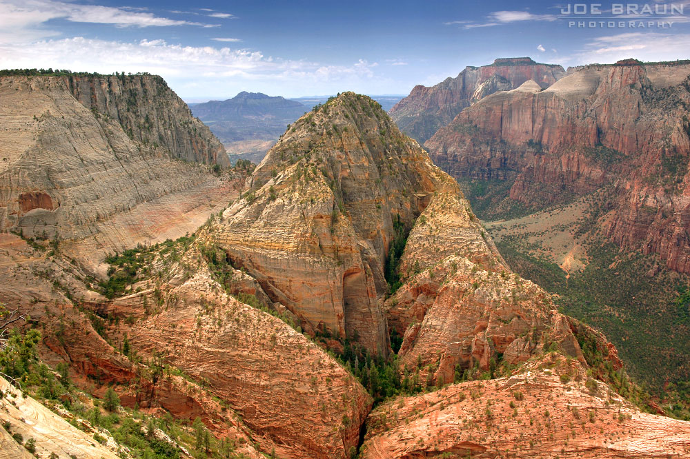 Deertrap Mountain photo (Zion National Park) -- © 2006 Joe Braun Photography