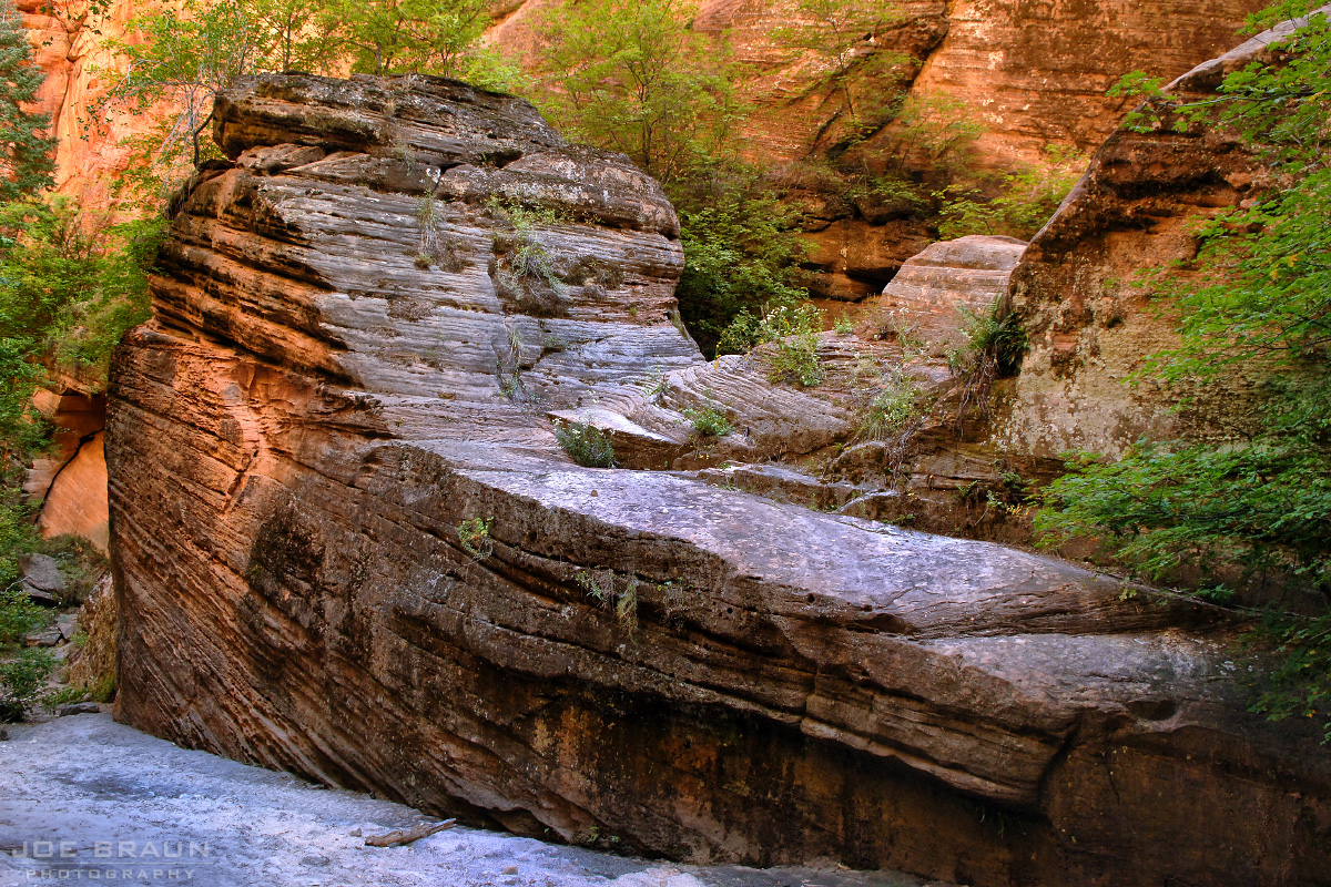 Hidden Canyon photo (Zion National Park) -- © 2006 Joe Braun Photography