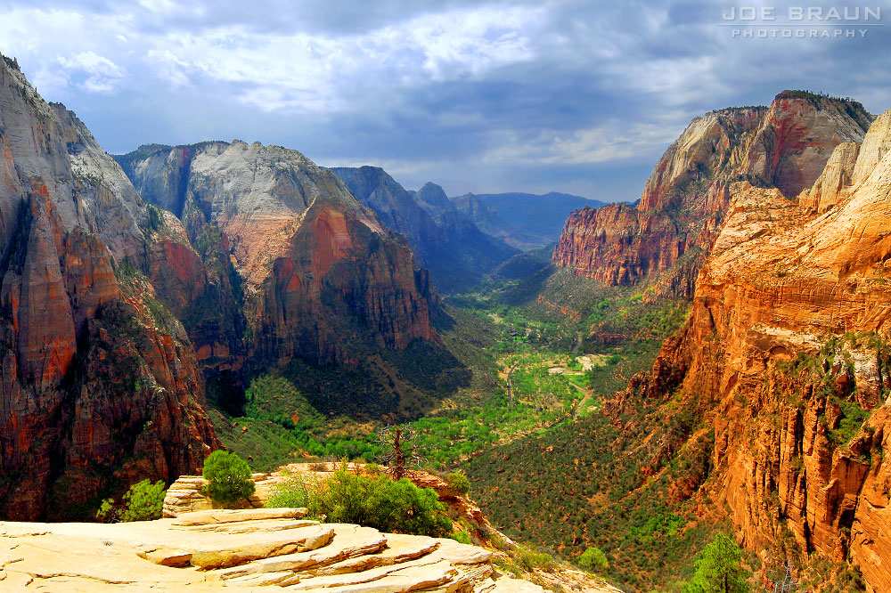 Angels landing photo zion national park 169 2007 joe braun