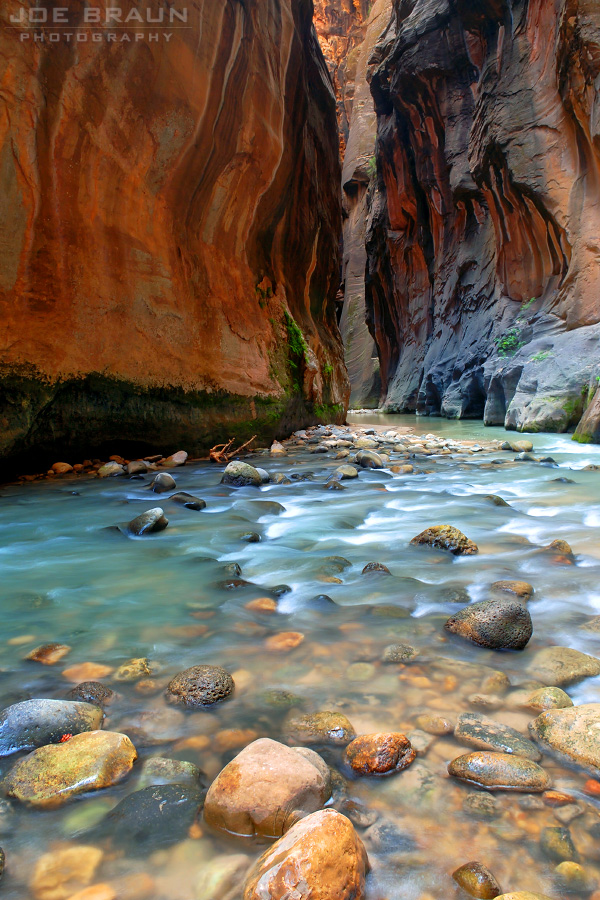 The Zion Narrows (Zion National Park) -- © 2007 Joe Braun Photography