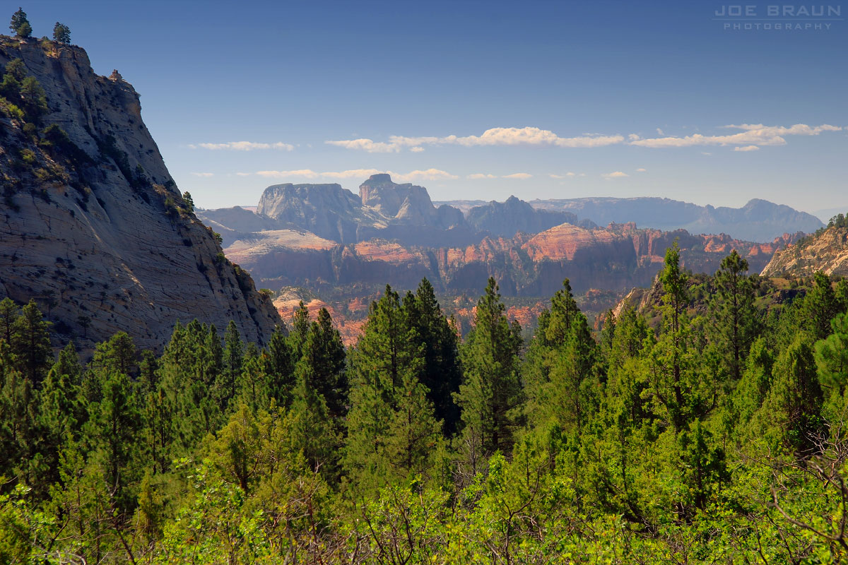 Wildcat Canyon Trail photo (Zion National Park) -- © 2007 Joe Braun Photography