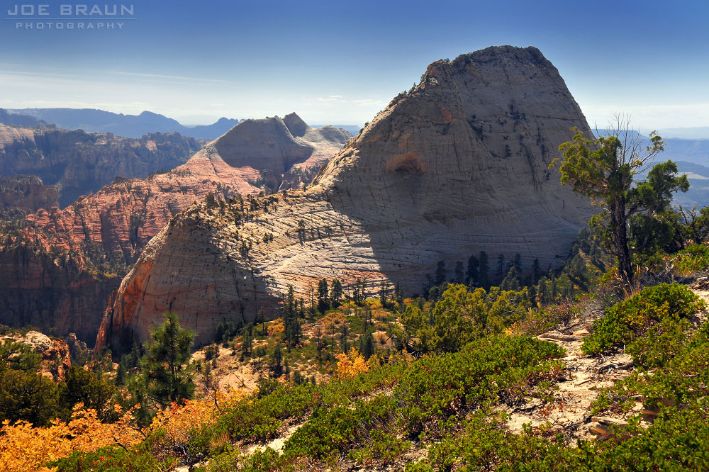 Northgate Peaks scramble (Zion National Park) -- © 2008 Joe Braun Photography