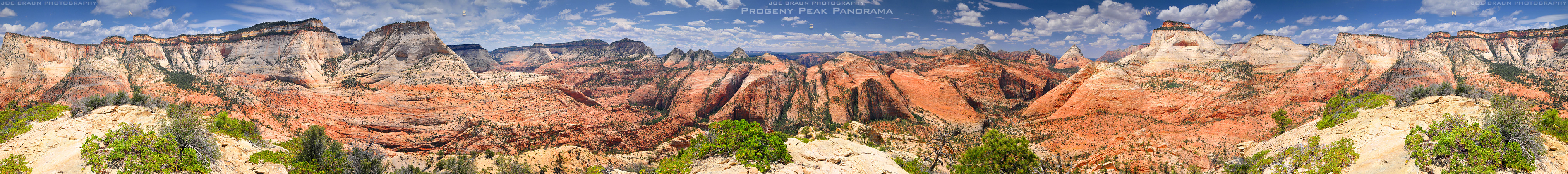 Progeny Peak Panorama -- © 2009 Joe Braun Photography