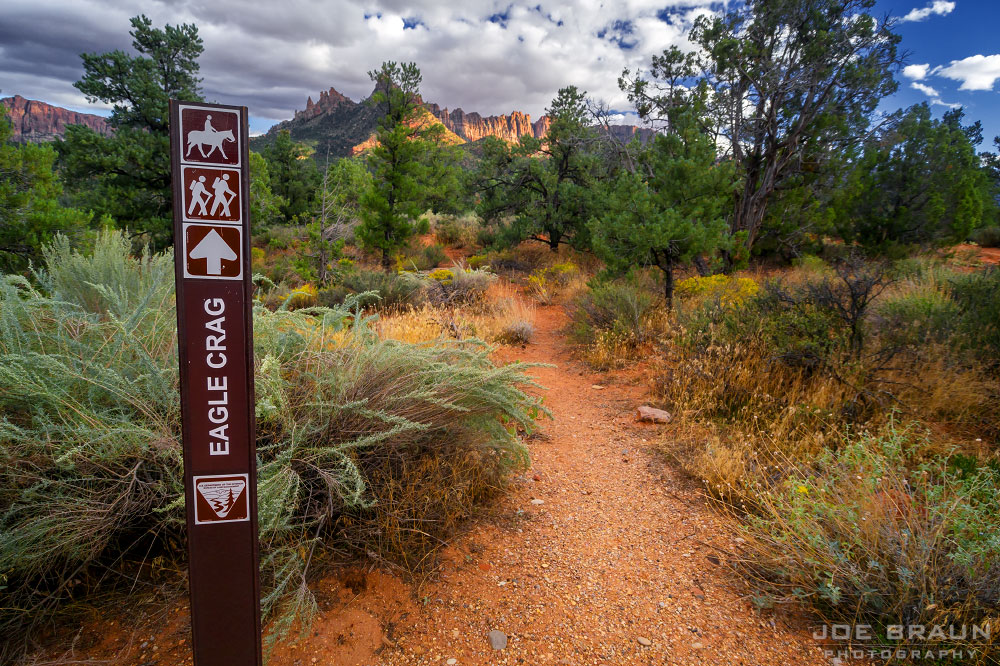 Eagle Crags Trail photo (Zion National Park) -- © 2011 Joe Braun Photography