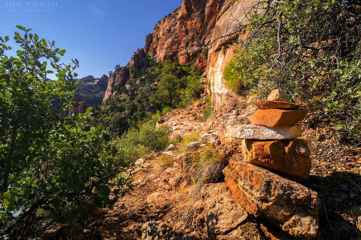 Eagle Crags Trail to Lower Mountain photo (Zion National Park) -- © 2011 Joe Braun Photography