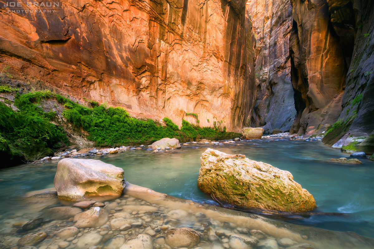 The Zion Narrows (Zion National Park) -- © 2011 Joe Braun Photography