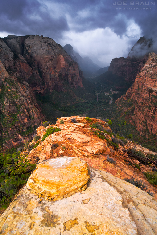 Angels Landing (Zion National Park) -- © 2012 Joe Braun Photography