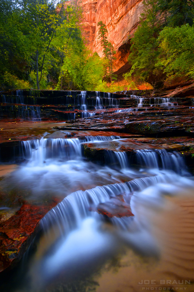 The Subway (Left Fork of North Creek) (Zion National Park) -- © 2012 Joe Braun Photography
