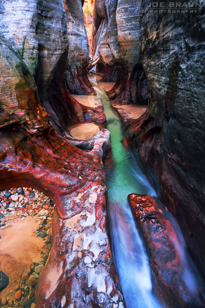 The Subway photo (Zion National Park) -- © 2012 Joe Braun Photography