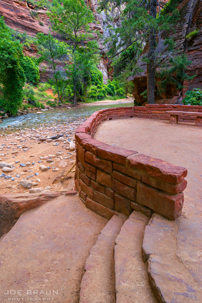 Riverside Walk (Zion National Park) -- © 2014 Joe Braun Photography