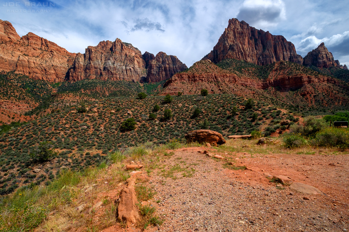 Archeology Trail, Zion Visitor Center (Zion National Park) -- Photo © 2015 Joe Braun Photography