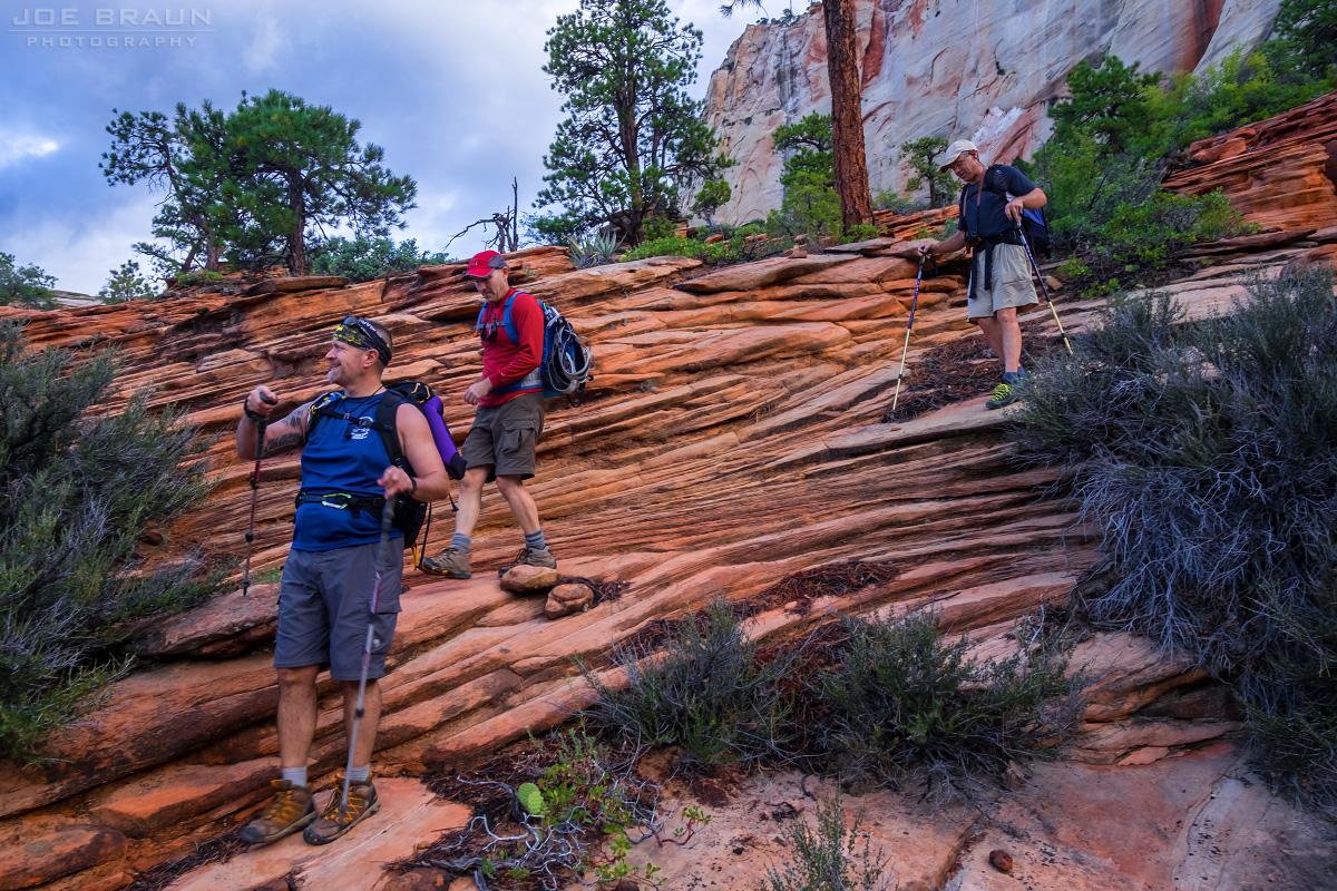 Das Boot photo (Left Fork of North Creek, Zion National Park) -- © 2015 Joe Braun Photography