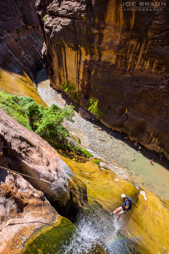 Mystery Canyon (Zion National Park) -- © 2015 Joe Braun Photography