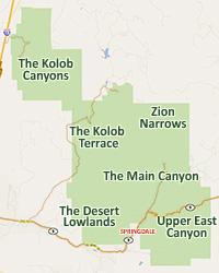 zion national park map pdf