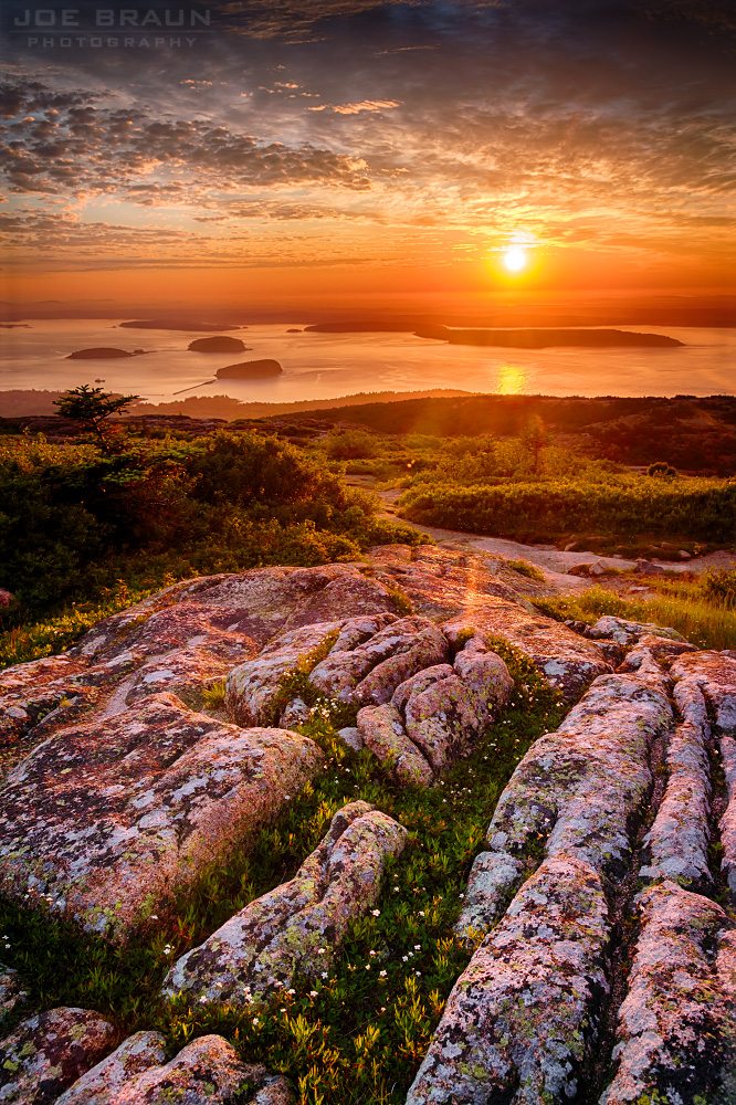 Cadillac Mountain sunrise, Acadia National Park