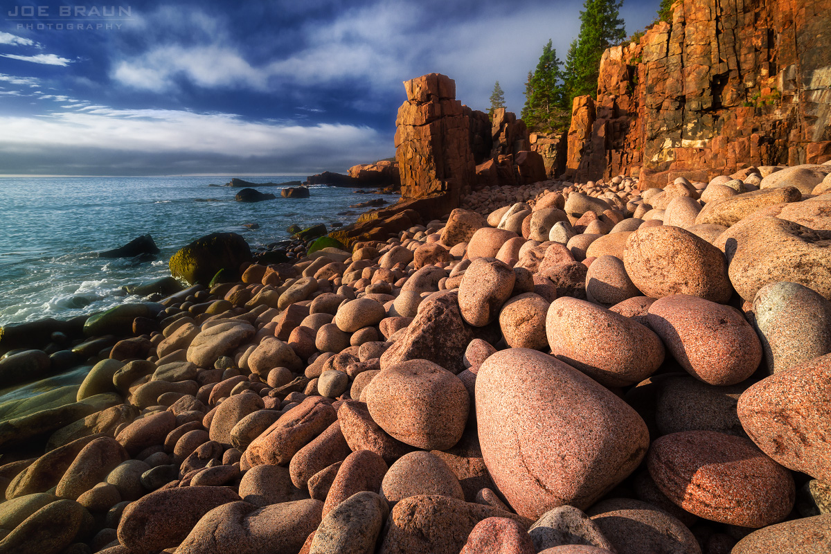 Acadia National Park, Boulder Beach