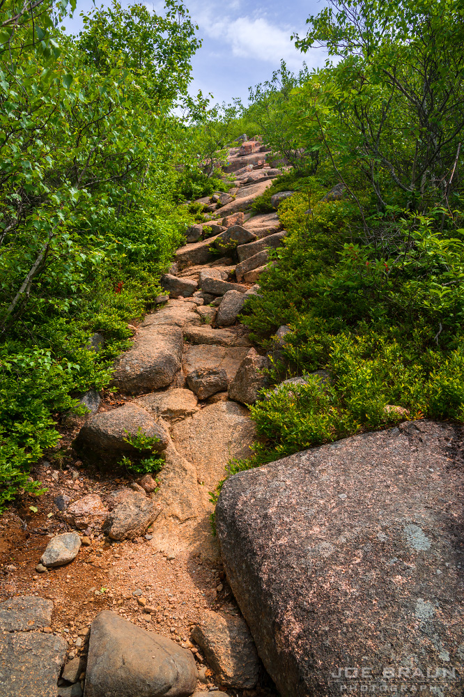 joe's guide to acadia national park - cadillac north ridge trail photos