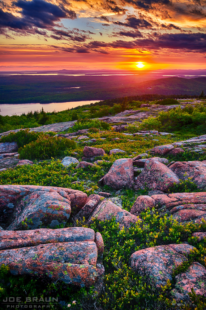 Cadillac Mountain Summit Loop photo (Acadia National Park) -- © 2014 Joe Braun Photography