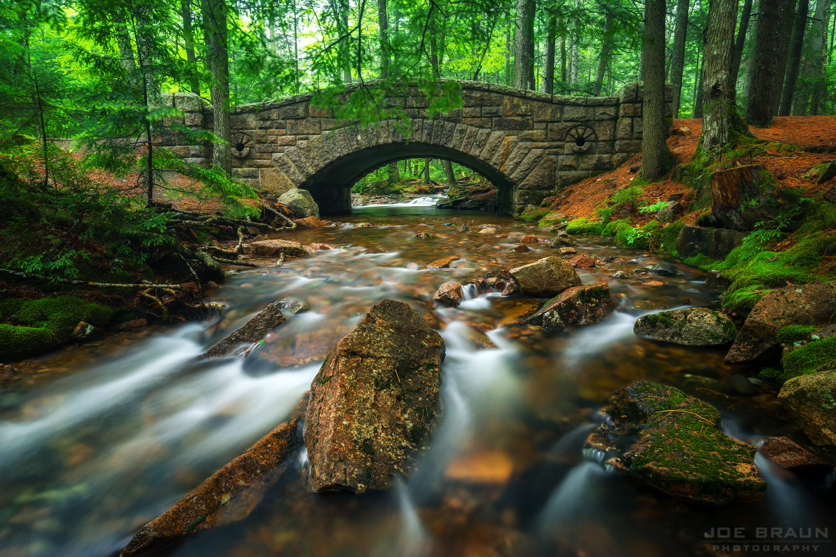 Hadlock Brook Bridge photo (Acadia National Park) -- © 2014 Joe Braun Photography