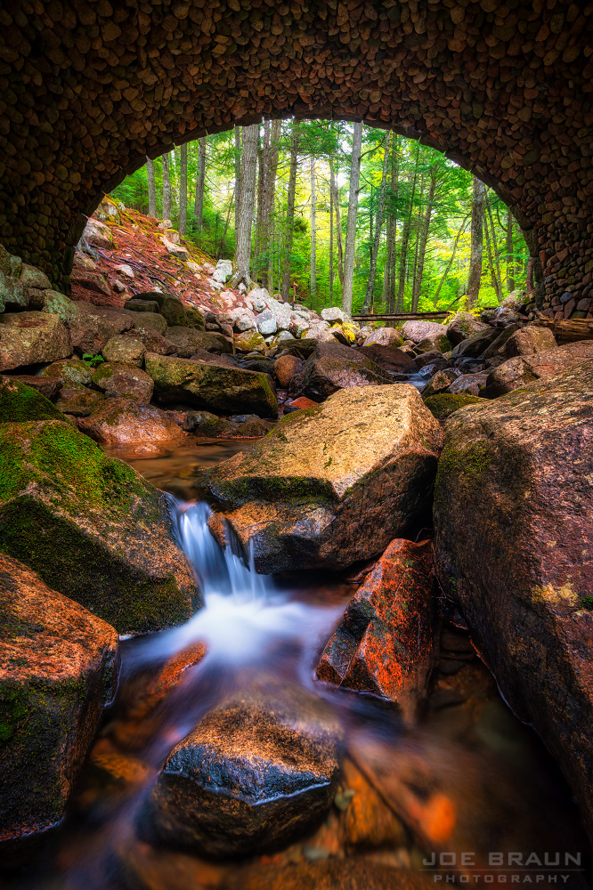 Cobblestone Bridge photo (Acadia National Park) -- © 2015 Joe Braun Photography