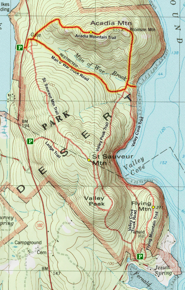 Joes Guide to Acadia National Park Acadia Mountain Hiking Guide