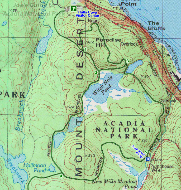 Joe's Guide to Acadia National Park - Duck Brook Bridge on map of white sands national monument, map of white mountain national forest, map of arctic national wildlife refuge, map of cape lookout national seashore, map of chickasaw national recreation area, map of bar harbor, map of cedar breaks national monument, map of deer isle, map of mount rogers national recreation area, map of el yunque national forest, map of oregon dunes national recreation area, map of cumberland island national seashore, map of southwest harbor, map of great sand dunes national park and preserve, map of independence national historical park, map of gulf islands national seashore, map of rockefeller university, map of sonoran desert national monument, map of indiana dunes national lakeshore, map of denali national park and preserve,