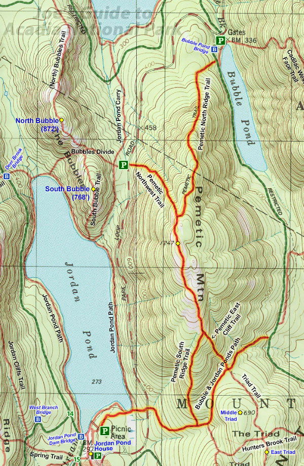 Joes Guide to Acadia National Park Pemetic Mountain Hiking Guide