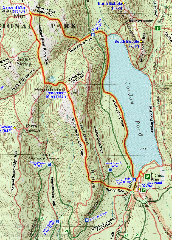 Joes Guide to Acadia National Park Penobscot Mountain and Sargent