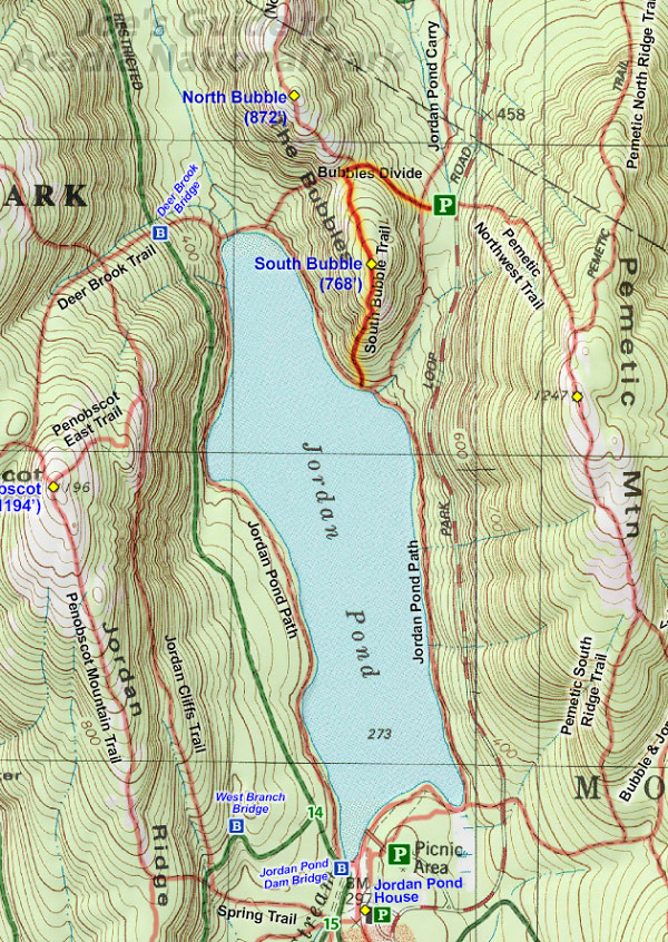 Joes Guide to Acadia National Park South Bubble Mountain Hiking Guide