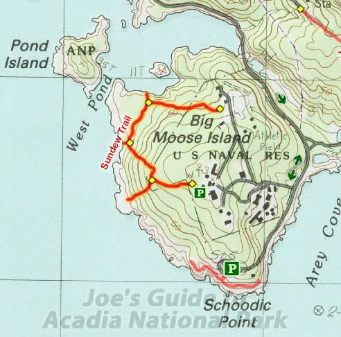 Joes Guide to Acadia National Park Sundew Trail Hiking Guide