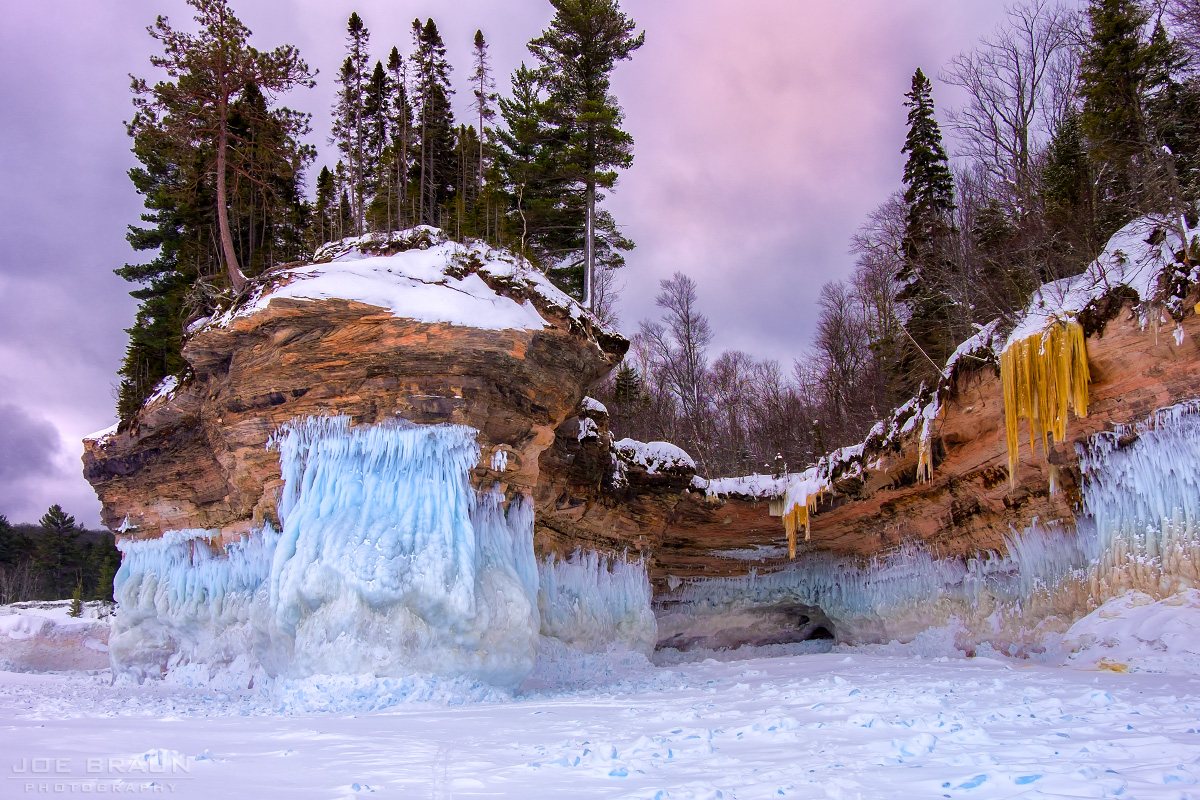 Pictured Rocks Winter Trek (Michigan) -- © 2015 Joe Braun Photography