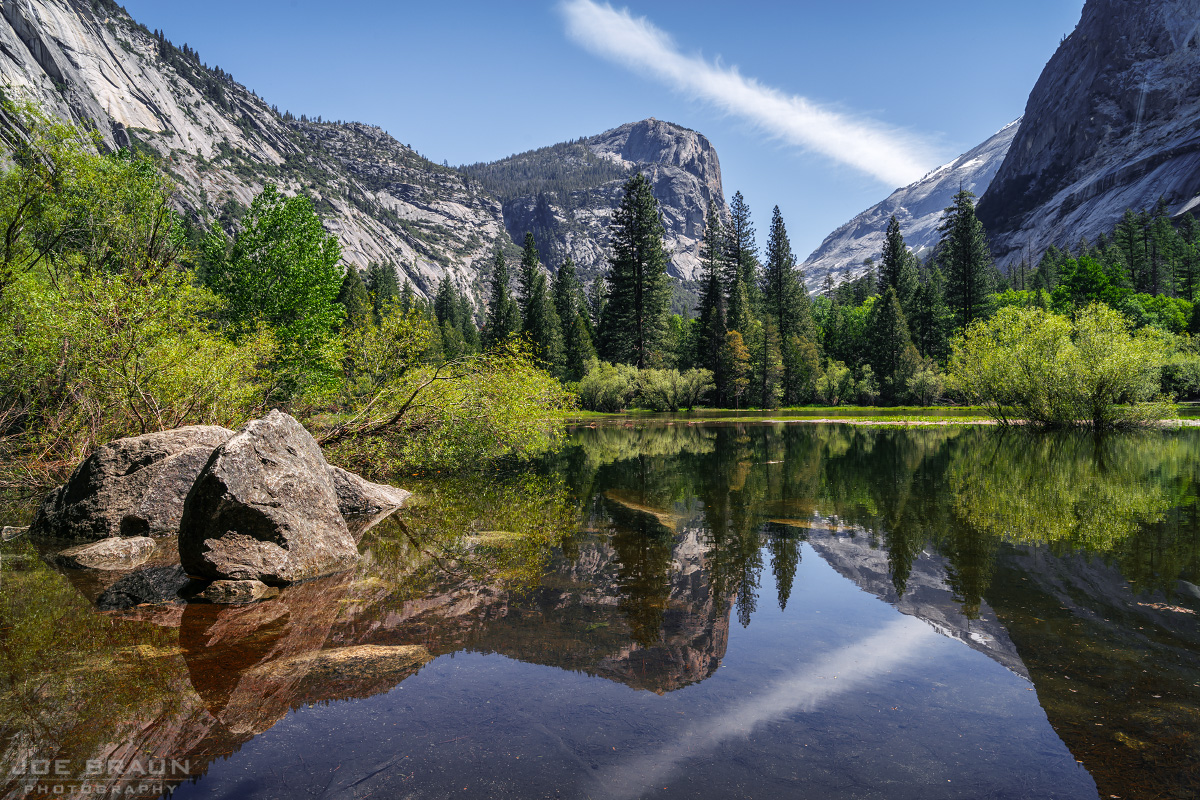 Mirror Lake photo (Yosemite National Park) -- © 2017 Joe Braun Photography